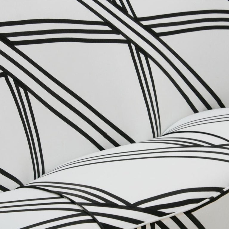 Guglielmo Veronesi for ISA Bergamo Mid-Century Modern Italian Perla Sofa For Sale 5