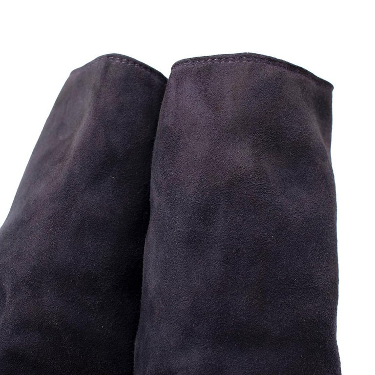 Guidi Suede Distressed Zipped Boots 43 For Sale 3