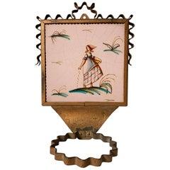 Guido Andlovitz Ceramic Tile Wall Planter for Societa Ceramica Italiana S.C.I.,