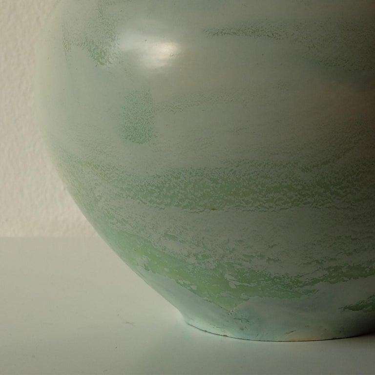 Italian Guido Andlovitz Lavenia, Elegant Vase in Glazed Ceramic, 1930s For Sale