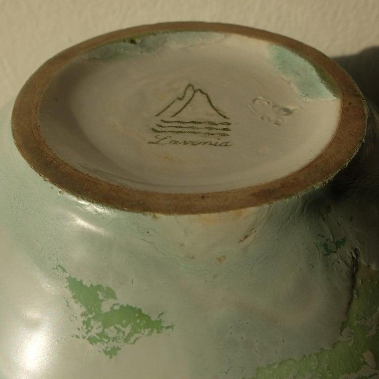 Mid-20th Century Guido Andlovitz Lavenia, Elegant Vase in Glazed Ceramic, 1930s For Sale