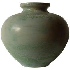 Guido Andlovitz Lavenia, Elegant Vase in Glazed Ceramic, 1930s