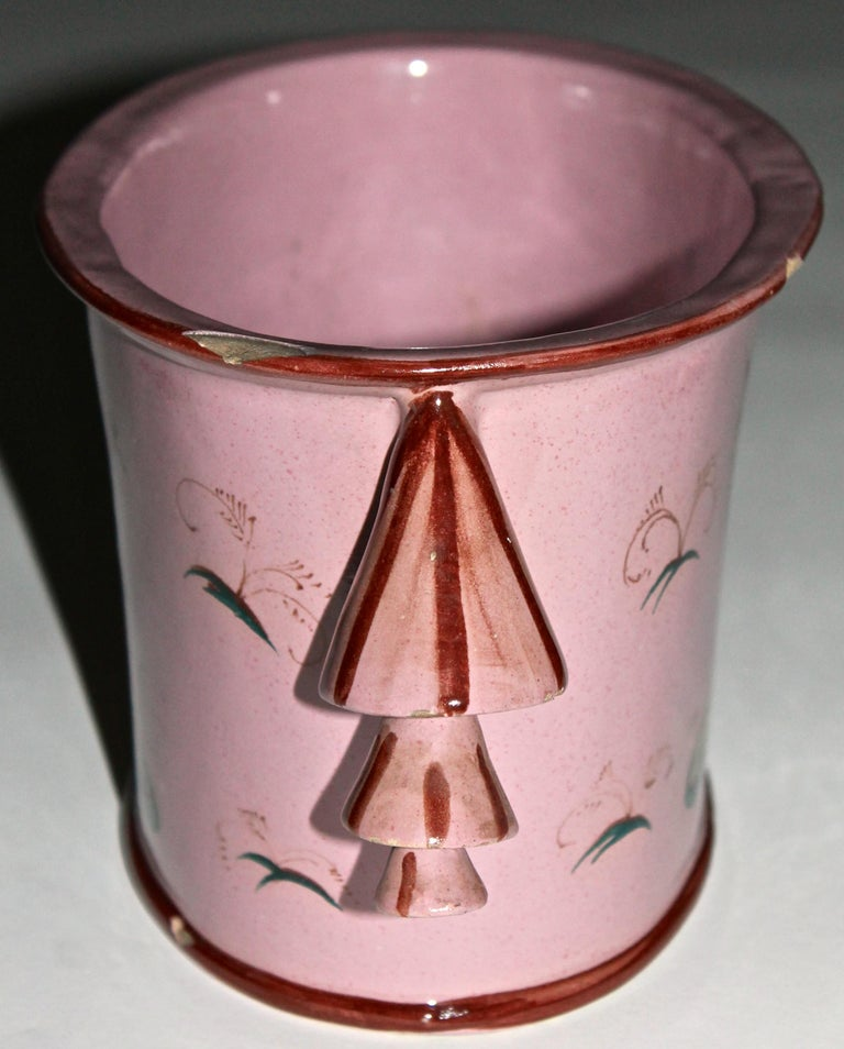 Hand-Painted Guido Andlovitz Vase for Societa Ceramica Italiana S.C.I., 1928-1930 For Sale