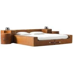 Guido Faleschini Cognac Leather Bedroom Suite
