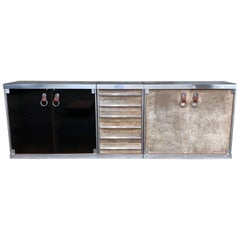 Guido Faleschini Edition Mariani Leather Sideboard Hermes