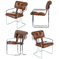 Guido Faleschini 'Tucroma' Chairs for Pace Collection Set of Four