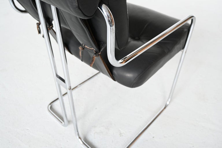 Guido Faleschini Tucroma Dining Chairs i4 Mariani, Italy, 1970 For Sale 3