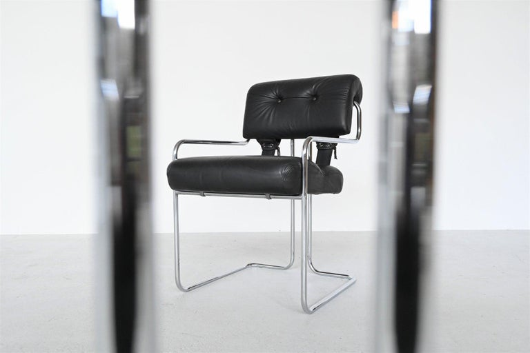 Metal Guido Faleschini Tucroma Dining Chairs i4 Mariani, Italy, 1970 For Sale