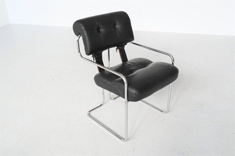 Guido Faleschini Tucroma Dining Chairs i4 Mariani, Italy, 1970 For Sale 1