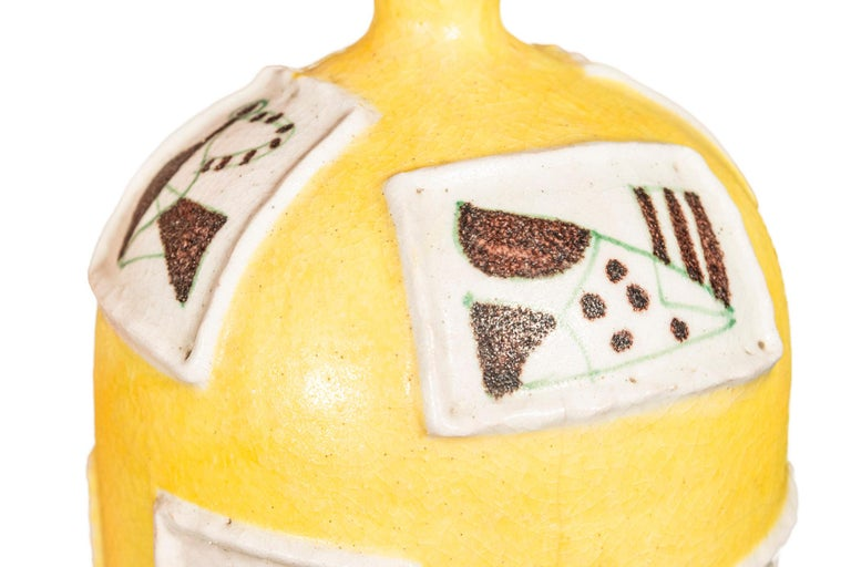 Guido Gambone, Ceramic, Signed, Italy, circa 1950 In Good Condition For Sale In Nice, Cote d' Azur