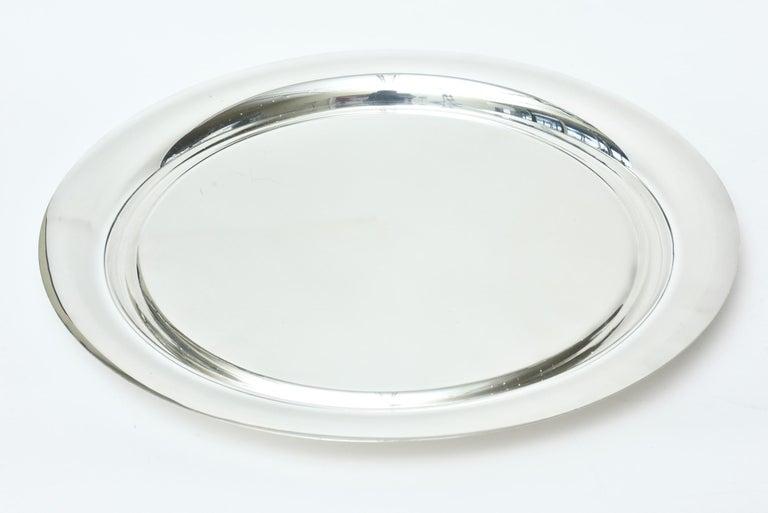 Guido Niest Modernist Silver-Plate Tea Coffee Service Signed Italian For Sale 3