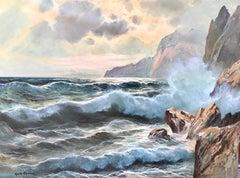 """Rolling Surf, Capri"""