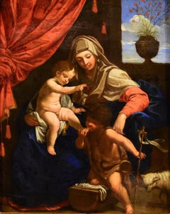 Madonna Atelier De Guido Reni Paint Oil on canvas Old master 17th Century Italy