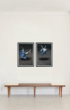 Blooming Flower I and II (Color Figurative Photography) Framed