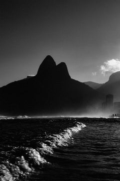 Lost In The Fog / Rio De Janeiro, 2010, Large Inkjet Print On Cotton Paper
