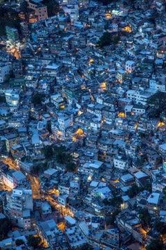Oceano / Favelas – Rio De Janeiro, 2017, Small Inkjet Print On Cotton Paper