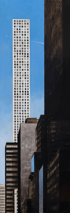 57th and Broadway by Guillaume Chansarel - Urban Landscape, New York City