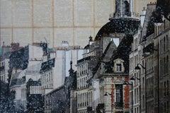 Dôme II (commission) - Urban Landscape Painting, Paris