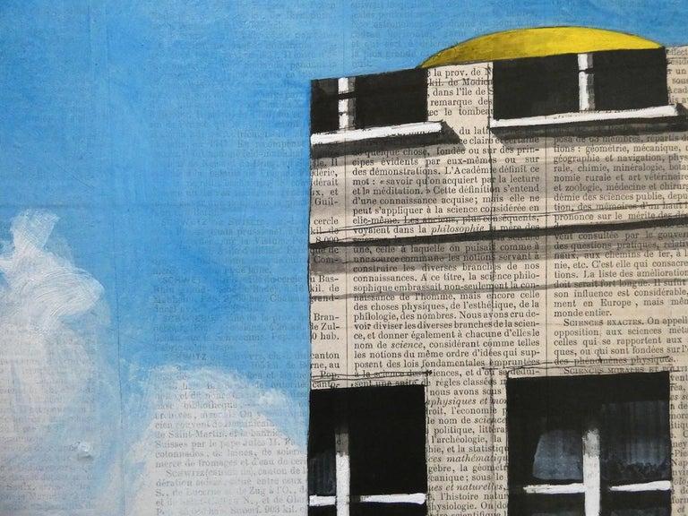 Epreuve de l'Irréel n°1/x- Urban Landscape Painting, Paris For Sale 1