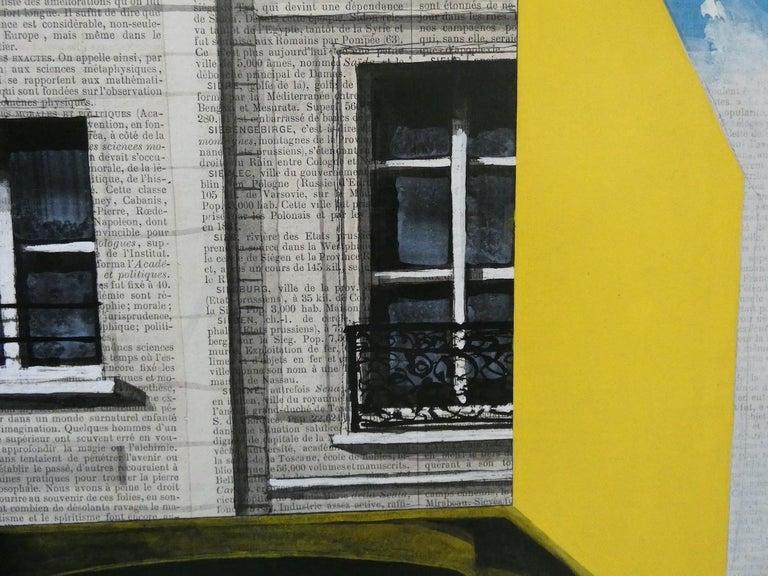 Epreuve de l'Irréel n°1/x- Urban Landscape Painting, Paris For Sale 2