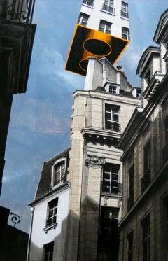 Epreuve de l'Irréel n°2/x - Urban Landscape Painting, Paris
