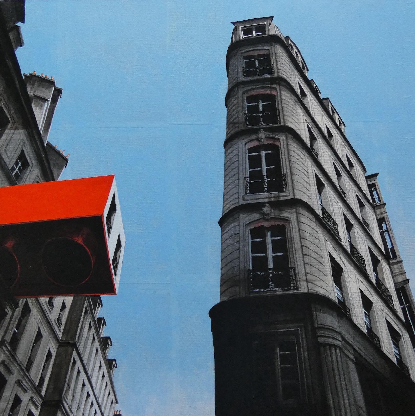 Epreuve de l'Irréel n°4/x - Urban Landscape Painting, Paris
