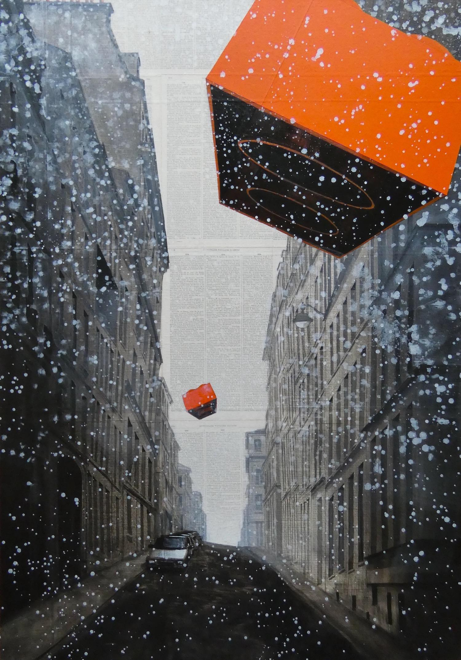 Epreuve de l'Irréel n°5/x - Urban Landscape Painting, Paris