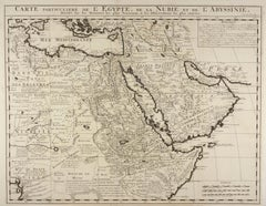 Map of Egypt, Nubia and Part of Abyssinia