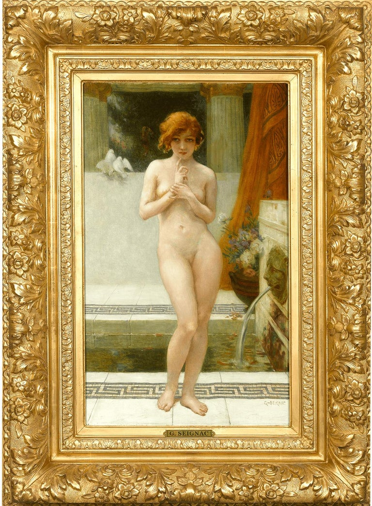 Mutine - Painting by Guillaume Seignac