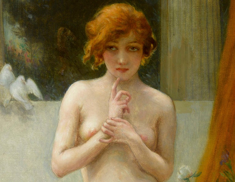 Mutine - Academic Painting by Guillaume Seignac