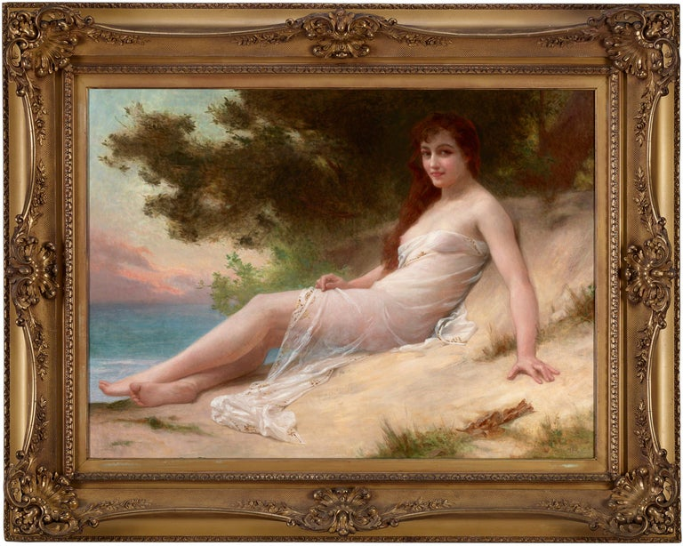 Solitude - Painting by Guillaume Seignac