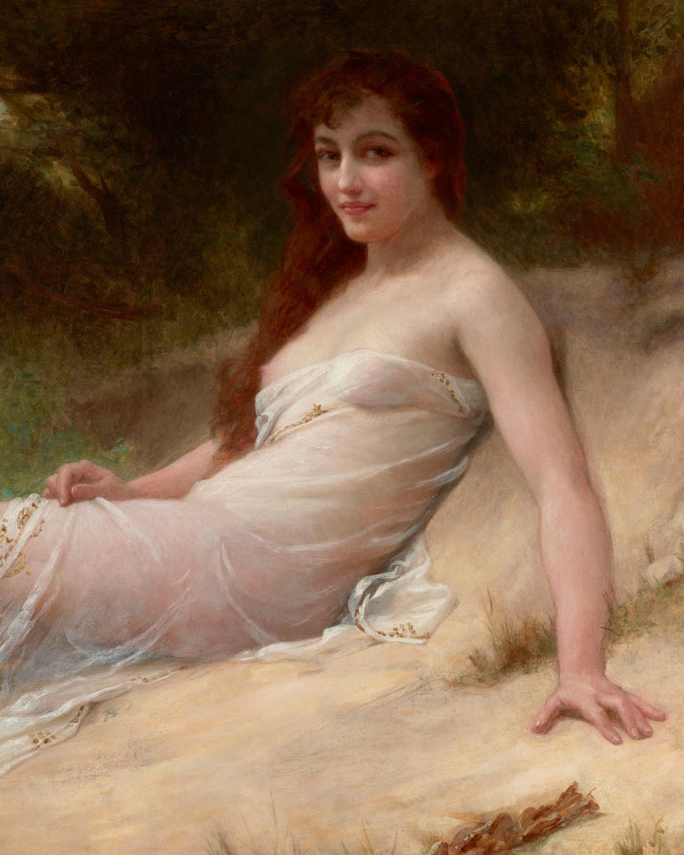 Solitude - Academic Painting by Guillaume Seignac