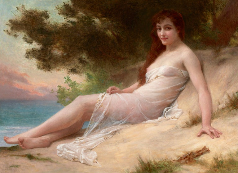 Guillaume Seignac Nude Painting - Solitude