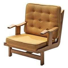 Guillerme and Chambron Sculptural Oak Chair