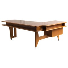 Guillerme and Chambron Architectural Oak Desk