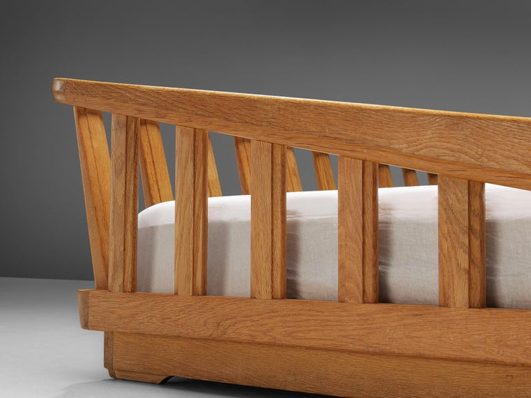 Guillerme & Chambron Bed in Solid Oak 3