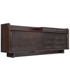 Guillerme & Chambron Dark Stained Sideboard in Oak