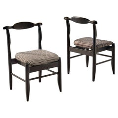 Guillerme & Chambron Pair of 'Fumay' Dining Chairs