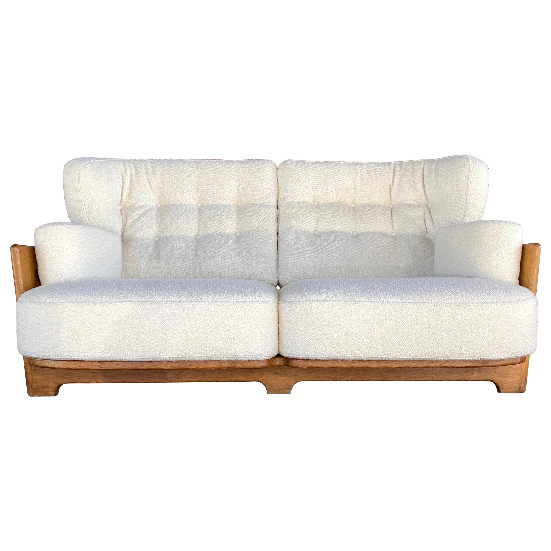 Guillerme & Chambron, Votre Maison, Sofa, Model Denis, 1960s