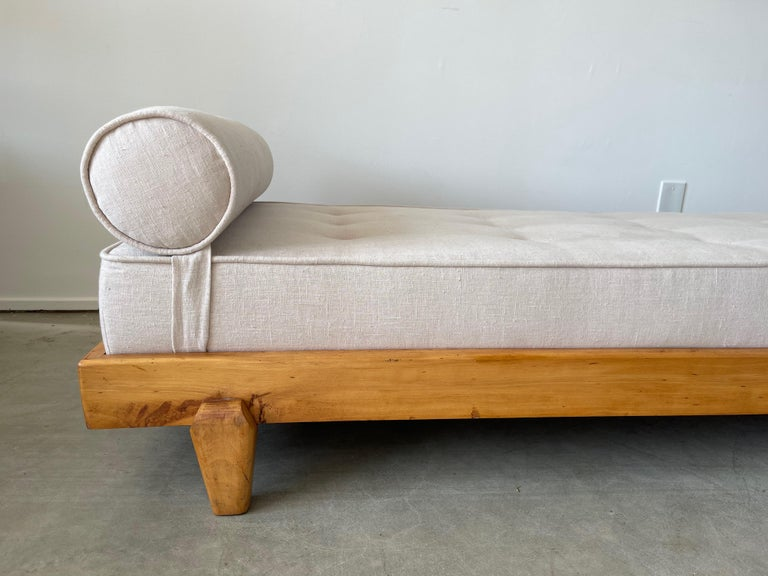 French Guillerme et Chambron Attributed Daybed For Sale