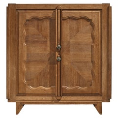 Guillerme et Chambron 'Bouvine' Highboard in Oak