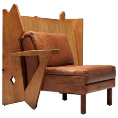 Guillerme et Chambron Cabinet for a Lounge Chair