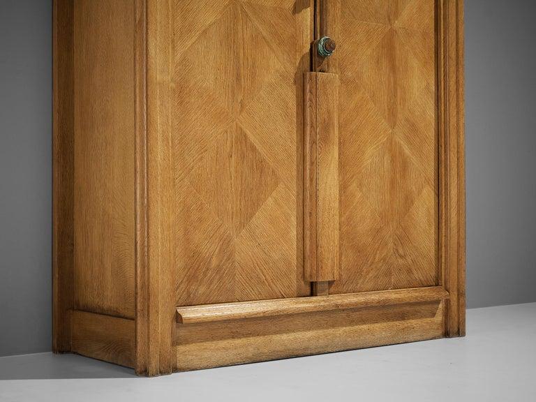 Guillerme et Chambron Cabinet in Oak For Sale 1