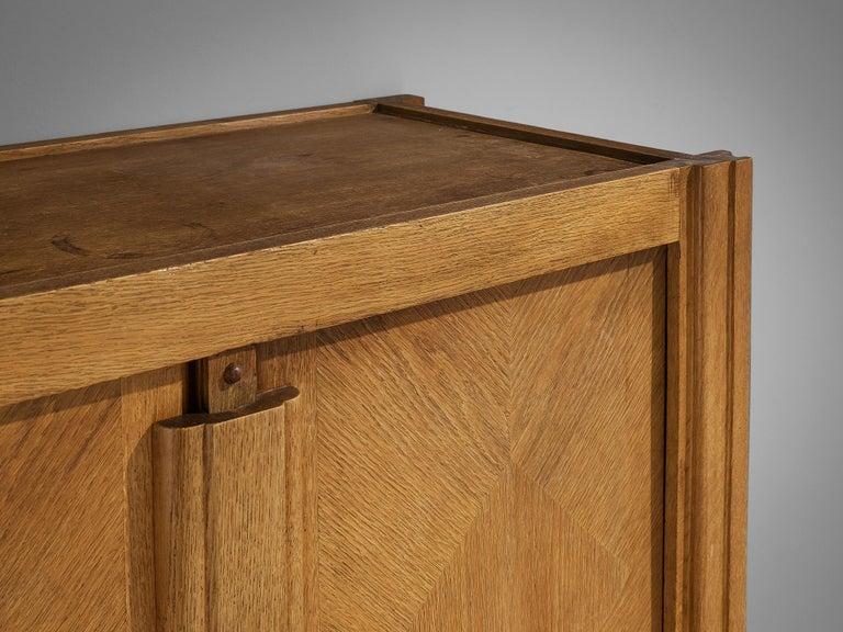 Guillerme et Chambron Cabinet in Oak For Sale 2