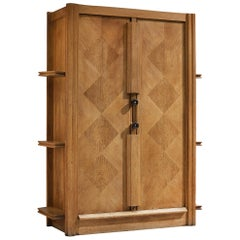 Guillerme et Chambron Cabinet in Oak