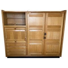 Guillerme et Chambron Cabinet in Oak Votre Maison Edition