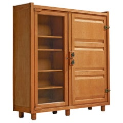 Guillerme et Chambron Cabinet with Glass Door