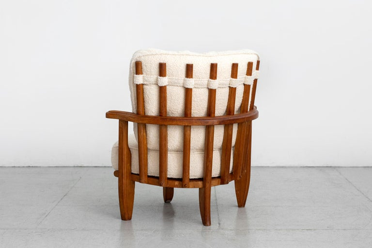 Guillerme et Chambron Chair In Good Condition For Sale In Los Angeles, CA