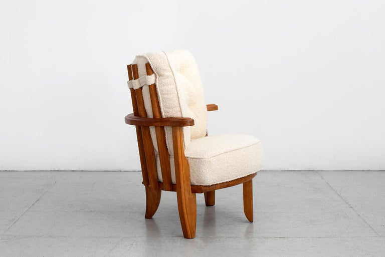 Guillerme et Chambron Chair For Sale 1
