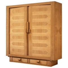Guillerme et Chambron Cubic Wardrobe in Oak